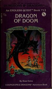 Cover of: Dragon of Doom by Rose Estes