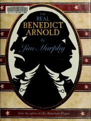 Cover of: The real Benedict Arnold