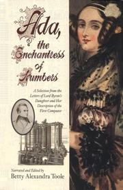 Cover of: Ada: The Enchantress of Numbers