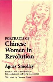 Cover of: Portraits of Chinese women in revolution