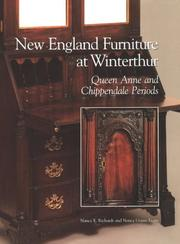 Cover of: New England furniture at Winterthur | Nancy E. Richards