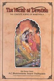 Cover of: The nectar of devotion