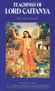 Cover of: Teachings of Lord Caitanya