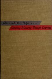 Cover of: Children and other people | Robert S. Stewart