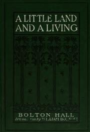 Cover of: A little land and a living | Bolton Hall