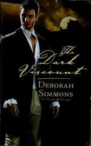 Cover of: The dark viscount