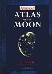 Cover of: Atlas of the moon