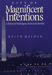 Cover of: City of magnificent intentions by Keith E. Melder
