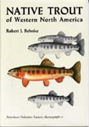 Cover of: Native trout of western North America | Robert J. Behnke
