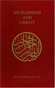 Cover of: Muhammad and Christ