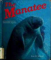Cover of: The manatee | Jean H. Sibbald