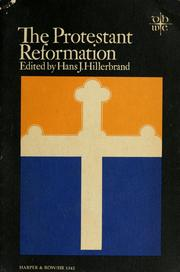 Cover of: The Protestant Reformation | Hans Joachim Hillerbrand