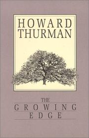 Cover of: The growing edge