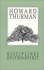 Cover of: Disciplines of the spirit