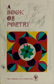 Cover of: A book of poetry. | Teresa Clare Sister, S.C