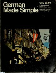 Cover of: German made simple | Eugene Jackson