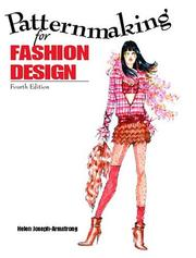 Cover of: Patternmaking for fashion design | Helen Joseph Armstrong