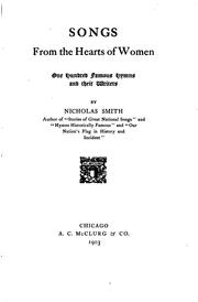 Cover of: Songs from the hearts of women | Nicholas Smith
