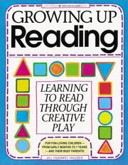 Cover of: Growing up reading