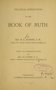 Cover of: Practical reflections on the Book of Ruth