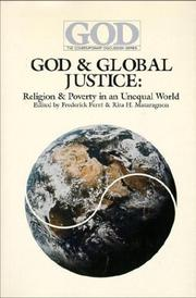 Cover of: God & Global Justice |