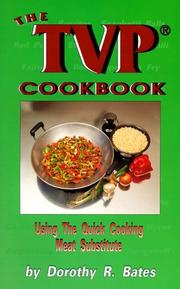 Cover of: The TVP cookbook