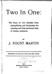 Cover of: Two in one | John Fount Martin