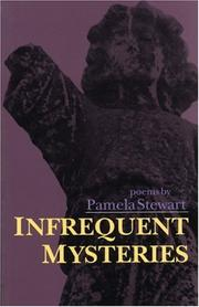 Cover of: Infrequent Mysteries: Poems