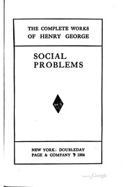Cover of: The complete works of Henry George | Henry George