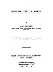 Cover of: Ragged life in Egypt |