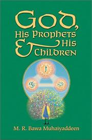 Cover of: God, his prophets and his children