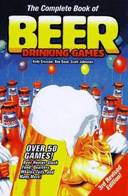 Cover of: The complete book of beer drinking games