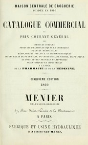 Catalogue commercial by Menier pharmacien-droguiste