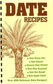 Cover of: Sphinx Ranch date recipes | Rick I. Heetland