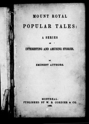 Cover of: Mount Royal popular tales |