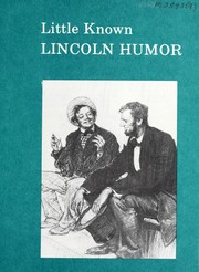 Cover of: Little known Lincoln humor | Louis Austin Warren