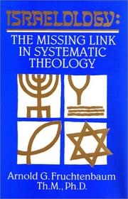 Cover of: Israelology