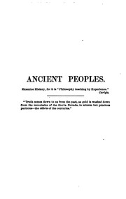 Cover of: A Brief History of Ancient Peoples: With an Account of Their Monuments, Literature, and Manners