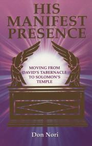 Cover of: His manifest presence