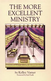 Cover of: The More Excellent Ministry