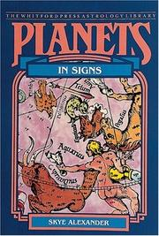 Cover of: Planets in signs