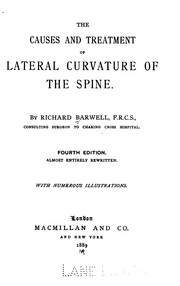 Cover of: The Causes and treatment of lateral curvature of the spine by Richard Barwell