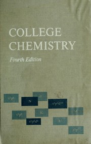 Cover of: College chemistry | G. Brooks King