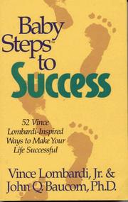 Cover of: Baby steps to success | Vince Lombardi