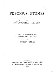 Cover of: Precious stones | Wilbert Goodchild