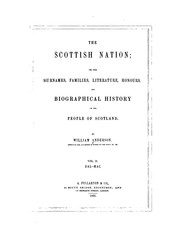 The Scottish nation by Anderson, William