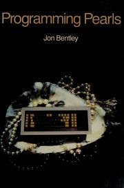 Cover of: Programming pearls | Jon Louis Bentley