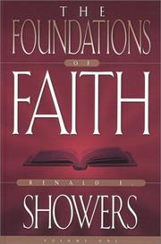 Cover of: The Foundations of Faith Vol. 1