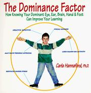The dominance factor by Carla Hannaford