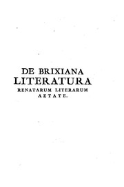 Cover of: Specimen variae literaturae by Angelo Maria Quirini